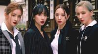 [스타zip] 우주소녀 '더블랙' 출격…설아·엑시·보나·은서 4人4色 매력 비교