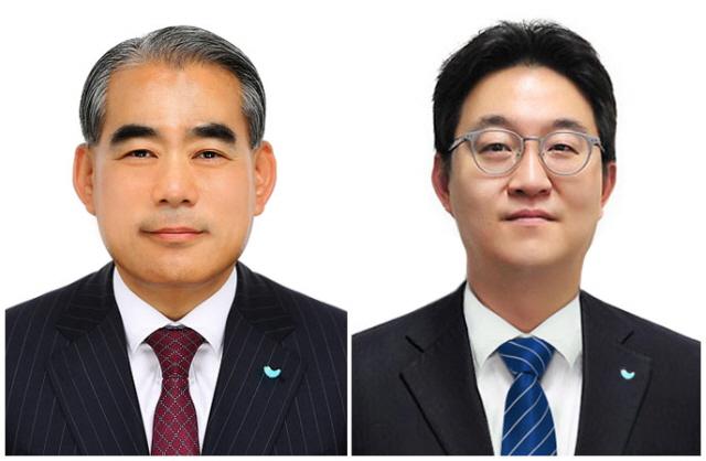 황종현 SPC삼립 대표이사(왼쪽), 안지용 SPC GFS 대표이사/SPC삼립 제공