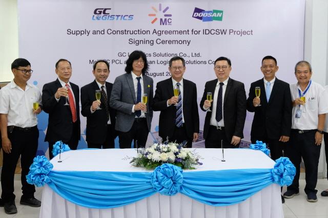 두산로지스틱스솔루션, 태국 국영회사 물류센터 자동화 설비 수주