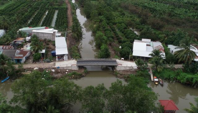 포스코가 베트남 껀터시 카이랑에 건설한 스틸브릿지. /포스코 제공