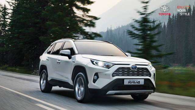 토요타 2021년형 'RAV4' 출시…가솔린 2WD 3600만