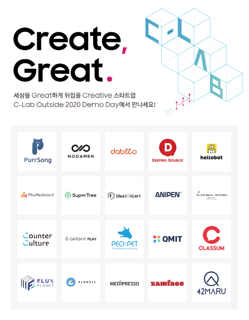 삼성전자, 스타트업 사업 기회 모색 'C랩 아웃사이드 데모데이' 개최